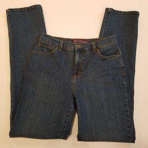 "Gloria Vanderbilt ""Amanda"" Straight Leg Jeans sz 4"